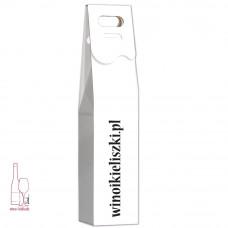 Ekologiczne białe pudełko stożkowe na wino