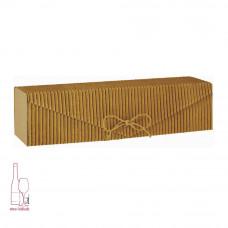 Pudełko - fala z kartonową wkładką - prążki
