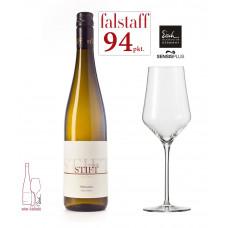 Zestaw Wino_i_Kieliszek  - Biały I